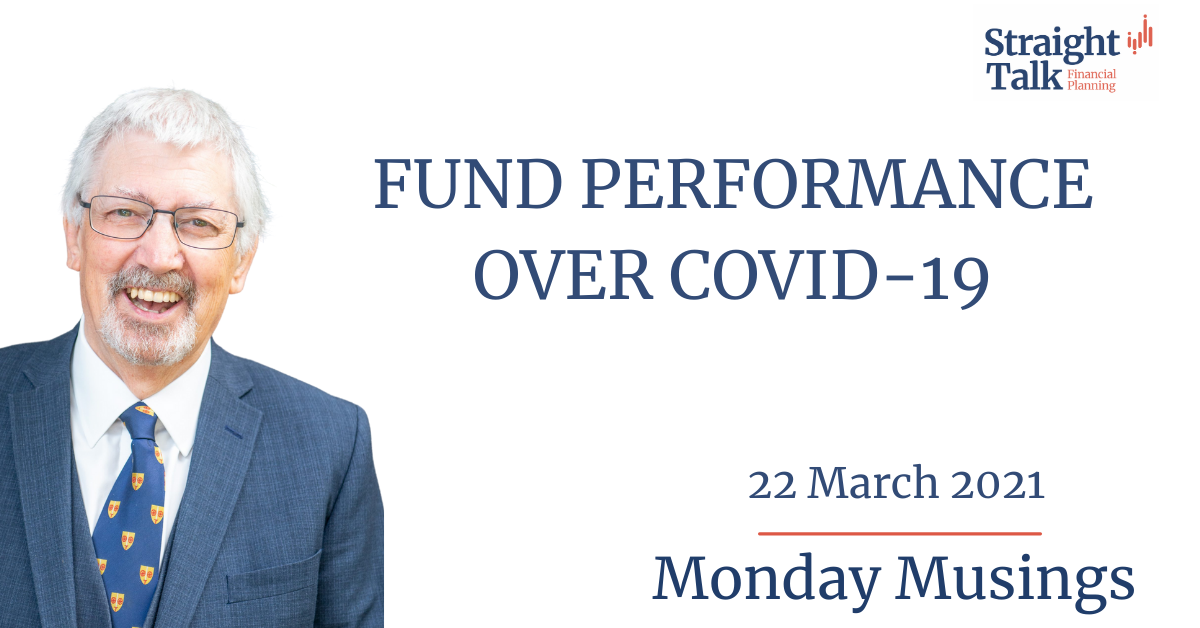 David talks about the fund performance over Covid-19