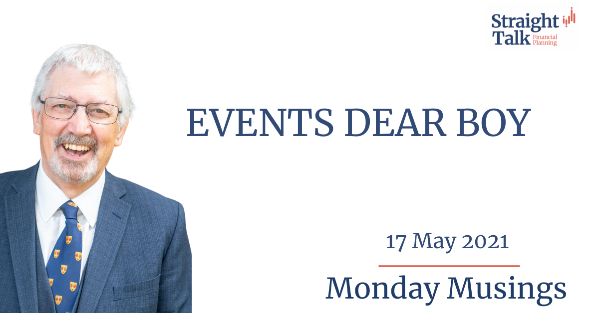In this week's Monday Musings David talks about Harold Macmillan, events dear boy, events