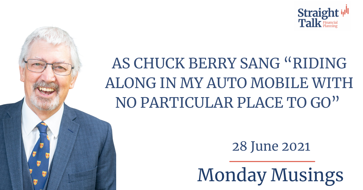 In this weeks Monday Musings David talks about Chuck Berry.