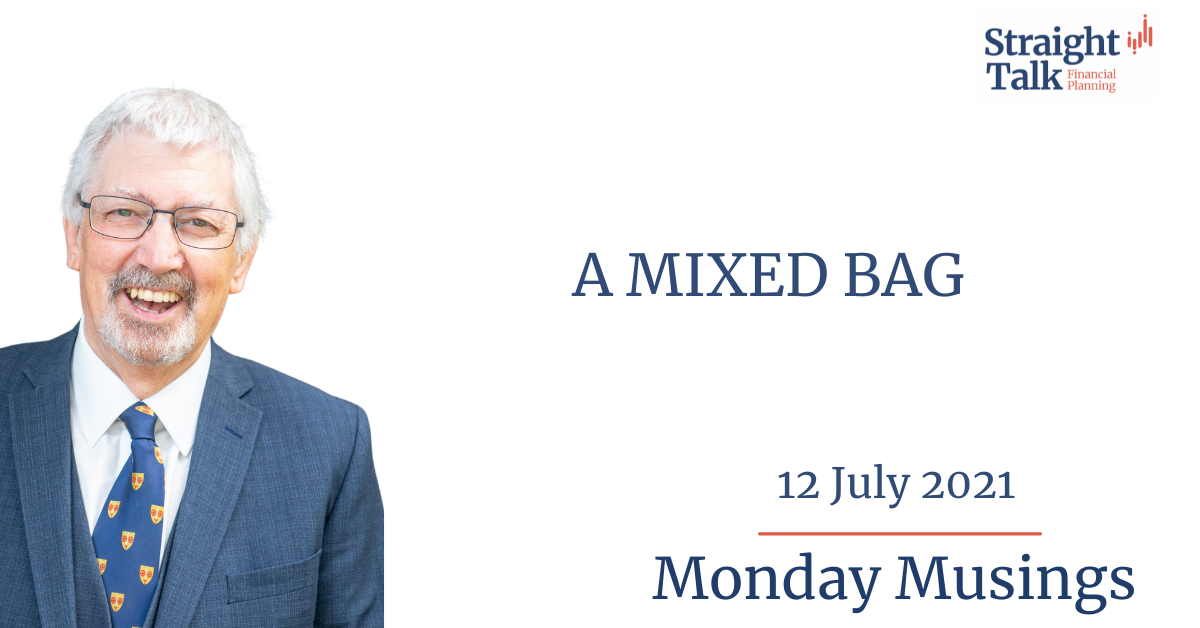 this weeks Monday Musings is... A Mixed Bag.